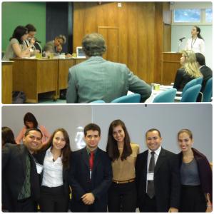 Equipe FDUSP nas edições de 2009 e 2012 do Concurso Nacional Sistema Interamericano de Direitos Humanos (SDH/PR)