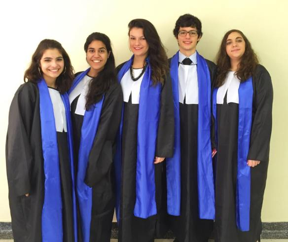 Representantes da USP na International Criminal Court.